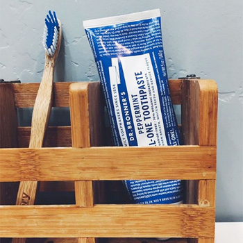 DR BRONNERS Dentifrice Peppermint