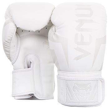 Elite Boxing Gloves White