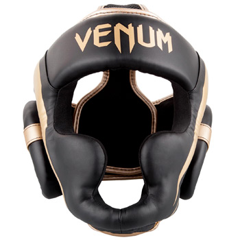 Elite Headgear Black Gold