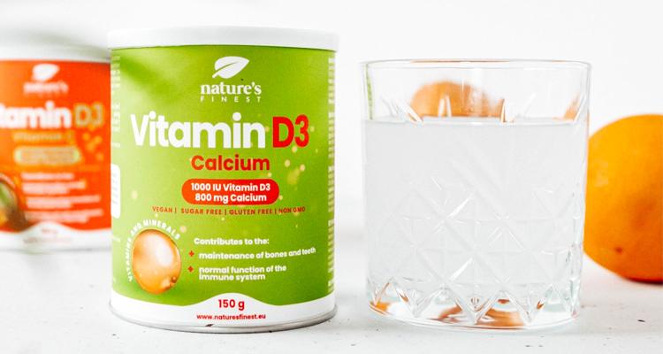 Vitamin D3 + Calcium