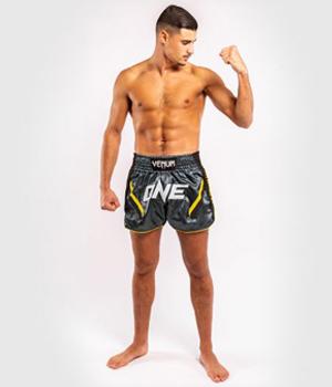 ONE FC Impact Muay Thai Short Grey Black