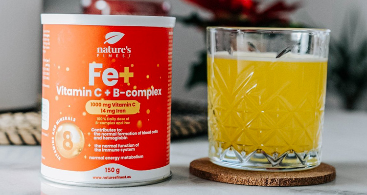 Fe + Vitamin C + B-complex