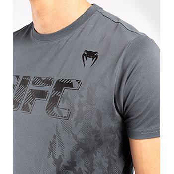 UFC Authentic Fight Week Men Tee Shirt Grey