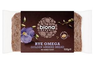Organic Rye Bread Omega 3