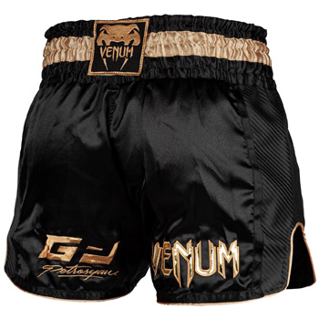 Petrosyan Muay Thao Short Black Gold