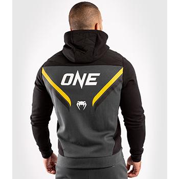 Hoodie One FC Impact Grey Yellow