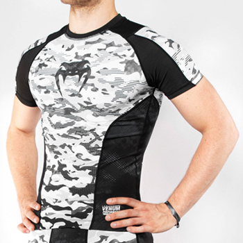 Defender Short Sleeve Rashguard Urban Camo