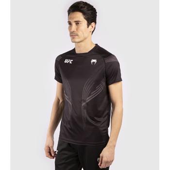 UFC Pro Line Tee Shirt Dry Tech Black