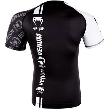 Logos Rashguard Black White