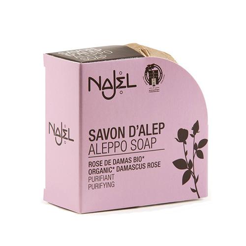 Savon Alep a la Rose de Damas Bio