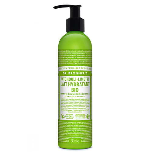 DR BRONNERS Lotion Patschouli Lime