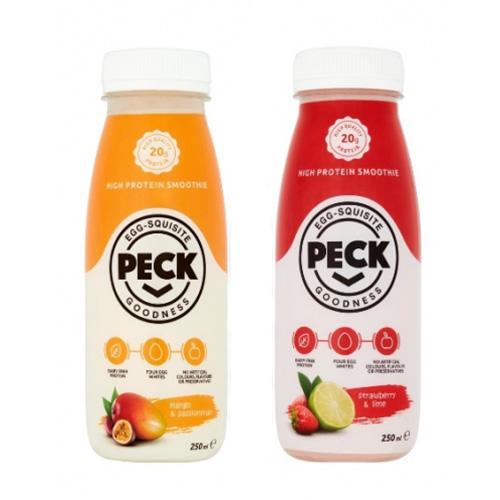 PECK - Strawberry & Lime Protein Smoothie
