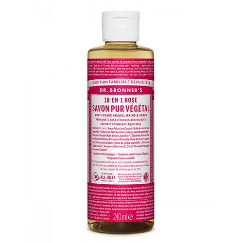 DR BRONNERS Liquid soap Rose