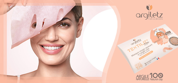 Masque Textilit Argile Rose