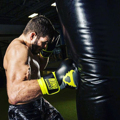 Charger Boxing Gloves Neo Yellow