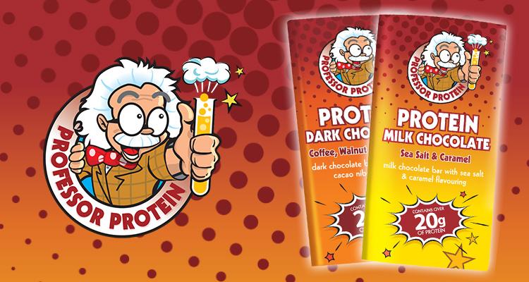 Professor Protein Chocolate Bars