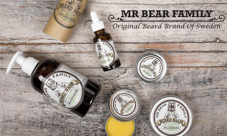 Mr. Bear Family Beard Kit Wilderness