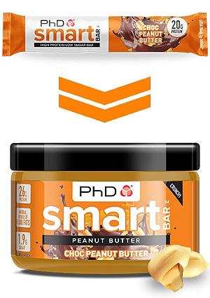 PHD Smart Bar Nut Butters