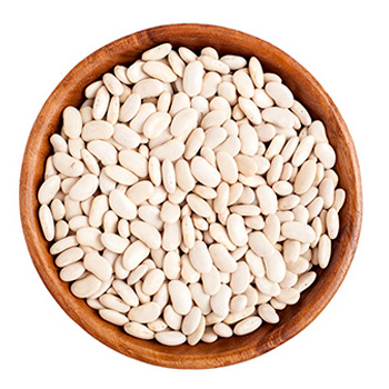 White Beans In Glass