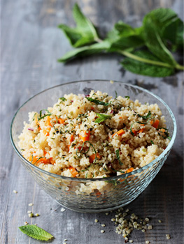 Couscous With Hemp