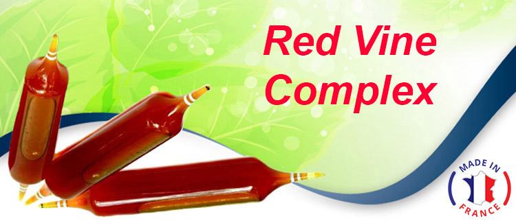 Complexe de vigne rouge Bio pour la circulation