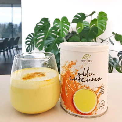 Golden Curcuma Latte