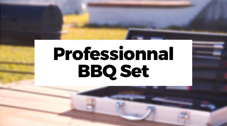 Professionnal BBQ Set