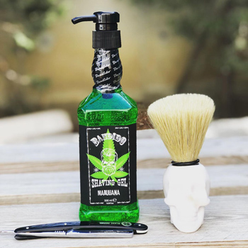 Shaving Gel Marijuana
