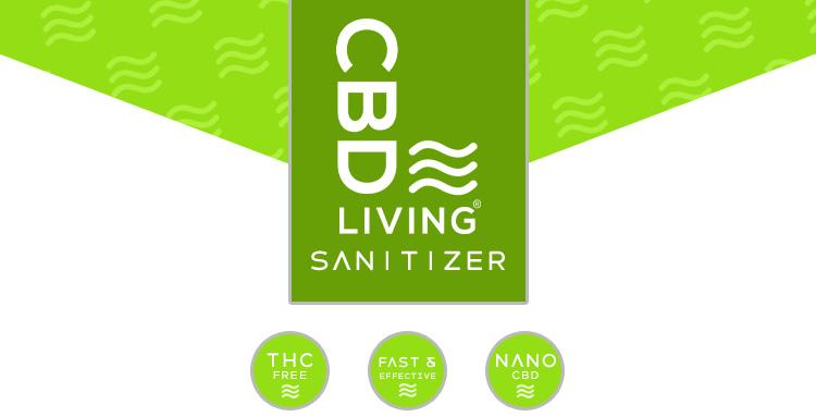 CBD Living Sanitizer