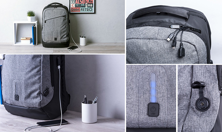 Powerbank Back Pack