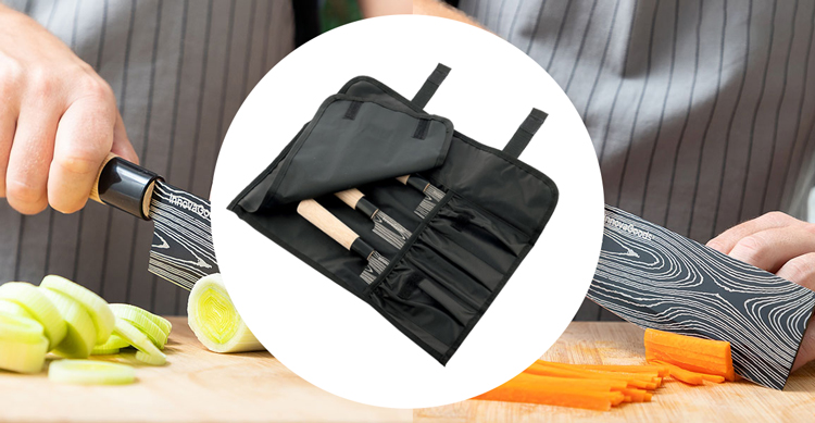 Damas Q Japanese Knife Set