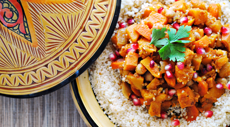 Chickpea & Bean Tagine