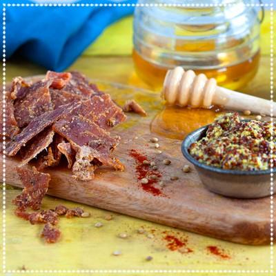 Honey Mustard Pork Jerky
