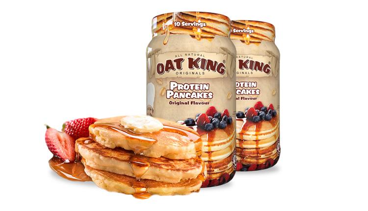 Oat King Protein Pancakes