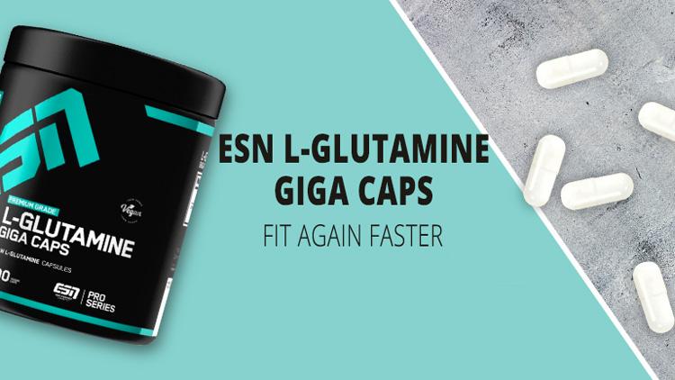 L-Glutamine Giga Caps
