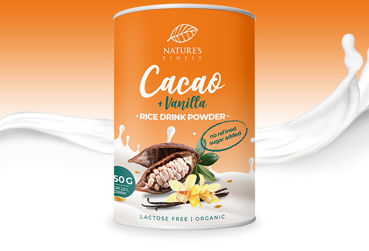 Rice Drink Cacao & Vanilla